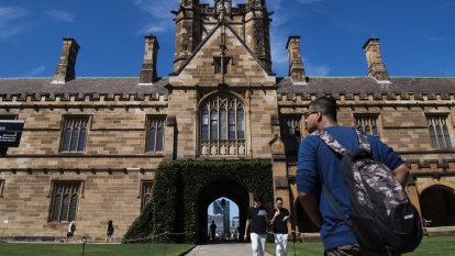 University of Sydney reports $2.2m loss in 'remarkable' rebound