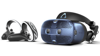 Latest Vive VR set is slick but vexing
