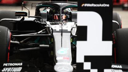 Hamilton takes record 90th career pole in Hungary