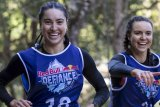 Female competitors in last year's Red Bull Defiance endurance race.