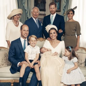 Prince Louis' official christening photos released