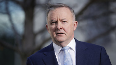 Labor leader Anthony Albanese wants a slow taper of JobKeeper rather than a sudden halt.