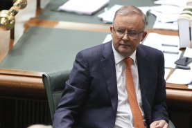 Opposition Leader Anthony Albanese has struggled to get attention.