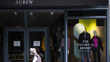 J. Crew is likely to be the first of many high-profile US retail bankruptcies.