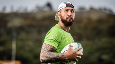 Quade Cooper will make a stunning return to the Wallabies fold.