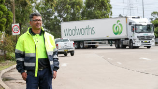 Brad Wicks, chief executive of a tourism outlet, has taken to stacking shelves at Woolworths to help his business get through this downturn.