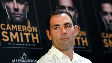 Cameron Smith launches his book on Monday.