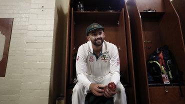 Nathan Lyon hasn't missed a Test since the Ashes tour of 2013.