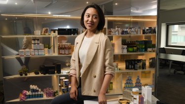 Livia Wang has all but taken control of the collapsed cosmetics chain.