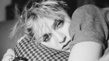 Madonna during her New York City grunge phase.