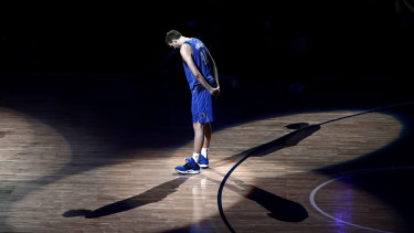 Bowing out: Dirk Nowitzki.