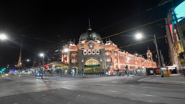 Melbourne has an 8pm curfew under new restrictions that business leaders say will lead to closures.