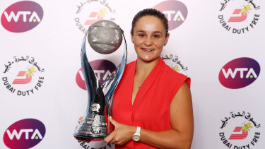 Barty had already guaranteed herself the year-end No.1 ranking prior to the decider in Shenzhen.