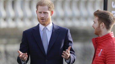 Britain's Prince Harry: fed up with the effects of social media.