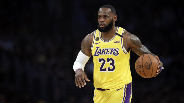 LeBron James won't be wearing a social justice message on the back of his jersey when the NBA season resumes.