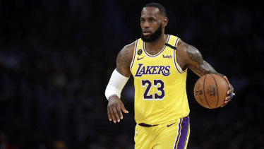 LeBron James, who campaigned for Democratic presidential candidate Hillary Clinton in 2016, has promised to campaign for Biden this year.