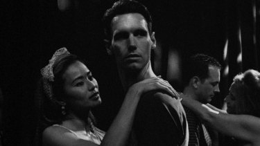 Jamie Chung (left) and Cory Michael Smith in 1985.