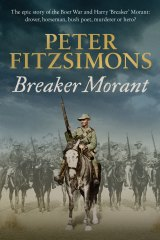 Peter FitzSimons' book on Breaker Morant will be published on October 27.