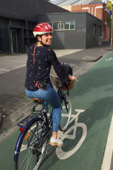 Gitta Scheenhouwer loved riding her bike around Melbourne.