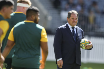 Coach Dave Rennie admits the Wallabies aren't where they need to be.