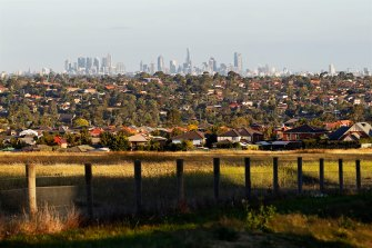 The state government is conducting a review of the green wedges under pressure from Melbourne's expansion.