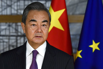 China's Foreign Minister Wang Yi. China's relationship with the EU is evolving rapidly.