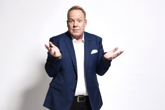 "Peter Helliar: ""My wife has a family member who was molested by a Catholic priest. That's probably why we only go twice a year to church. It is hard to separate those things."""