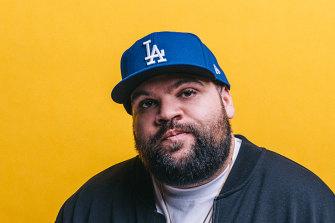Rapper Adam Briggs will work with musicians in the precinct.