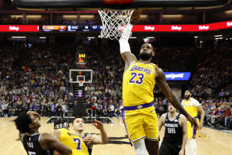 At 36, LeBron James is still a dominant force for the LA Lakers in the NBA.