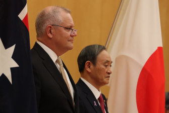 Scott Morrison used two visits to Japan to woo the IOC and convince them of Brisbane's merits.
