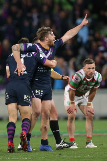Cameron Munster delivers victory for Storm.