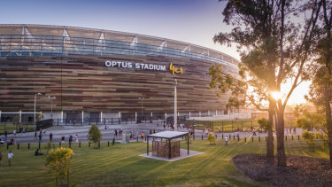 Optus Stadium has shone for AFL fans in the west after opening earlier this year.