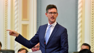 Queensland Transport Minister Mark Bailey details plans for a new watchdog for the taxi and ride-sharing industry.