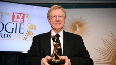 TV Week Logie Hall of Fame 2019 inductee Kerry O'Brien.