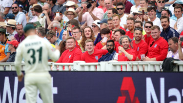 Warner copped plenty from the Edgbaston crowd in the first Test - just the way he likes it.