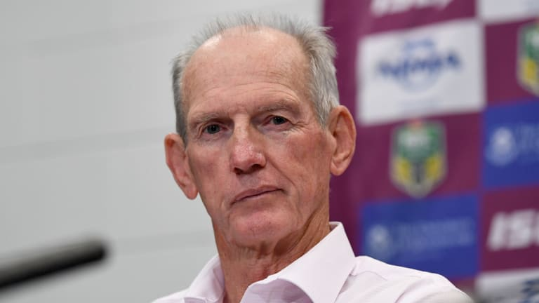 Merry-go-round: Wayne Bennett is among the coaches with uncertain futures.