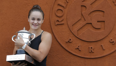 Nick Kyrgios says Ash Barty is Australia's best chance at a first Wimbledon win since Lleyton Hewitt in 2002.