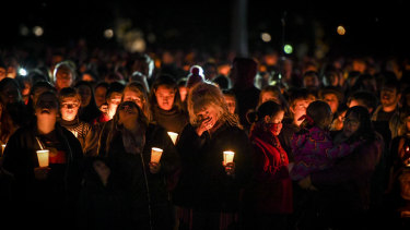 Thousands attend a candlelight vigil in solidarity for Eurydice Dixon.