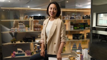 Livia Wang employs a staff of almost 100.