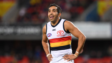 Eddie Betts says there has been interest but no offer from Gold Coast.
