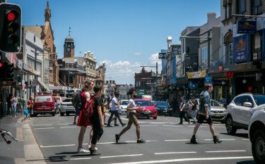King Street in Newtown, a model for the future.