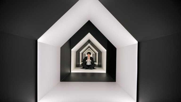 The Escher x nendo exhibition is on at NGV.