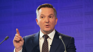 Shadow treasurer Chris Bowen questions Brookfield's acquisition of Healthscope