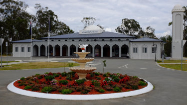 On Monday afternoon a pig's head has been left outside mosque in Stockleigh, about 40km south of the Brisbane CBD.