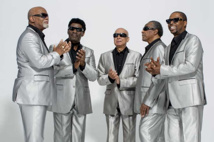 The Blind Boys of Alabama have been singing together since 1939.