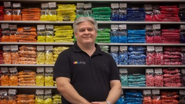 Sweetshop owner Greg Smith.