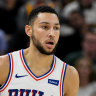 Simmons digs in on defence as Sixers pip Pacers