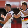 Adelaide's Rory Atkins on the move