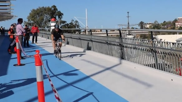 Goodwill Bridge's slippery issue fixed