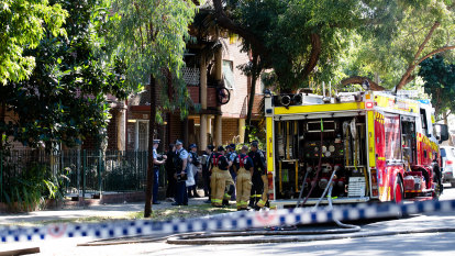 Boy critically burnt in inner-city unit fire, eight others in hospital